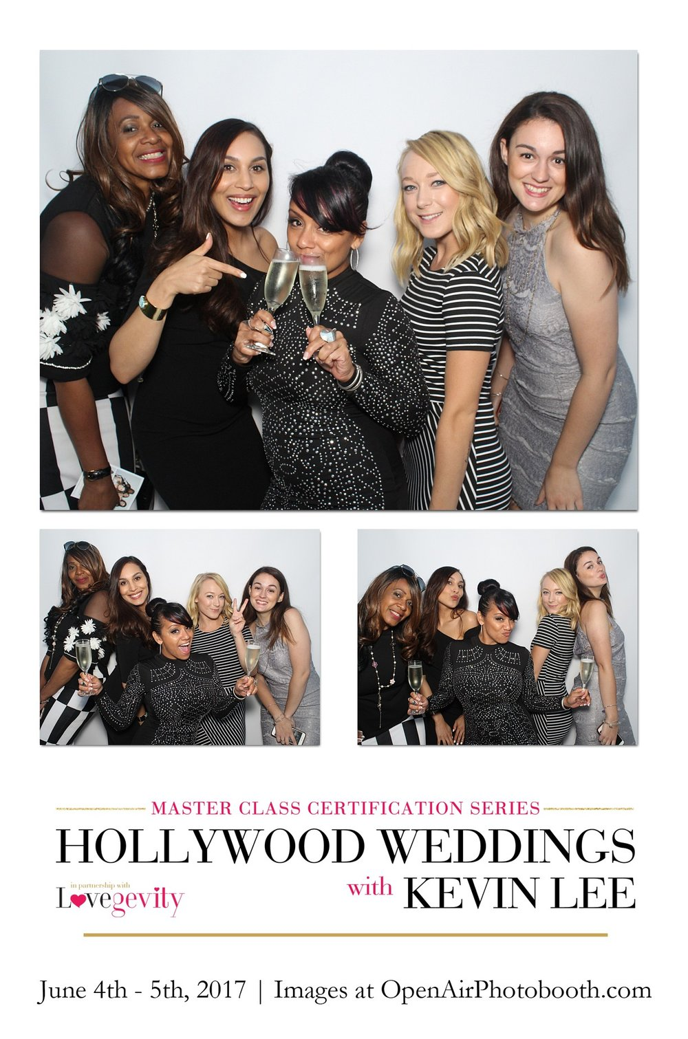 Open Air Photobooth Hollywood Weddings