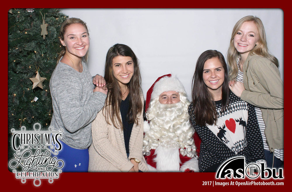 Open Air Photobooth Santa