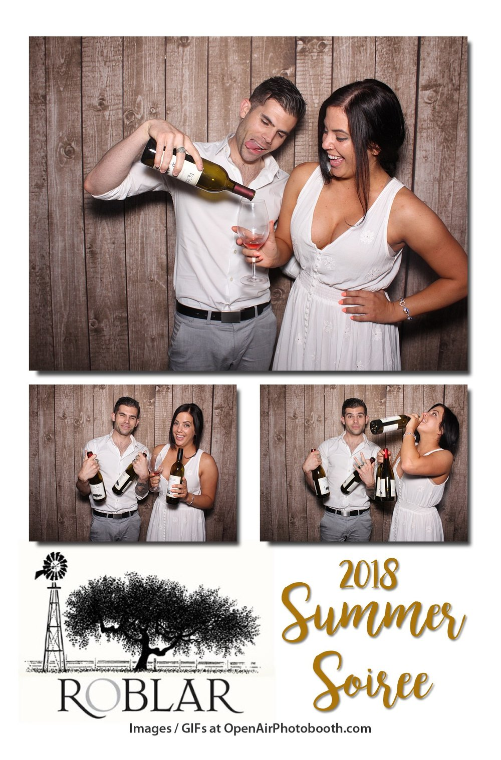 roblar winery photobooth