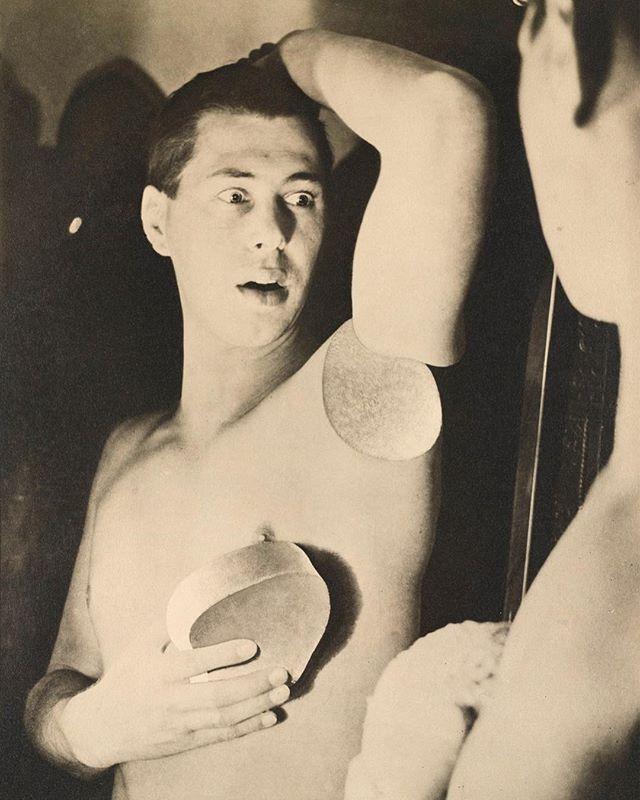 """#onamondayiamwaiting #tuesdayiamfading #bywednesdayicantsleep [Hubert Bayer's """"Humanly Impossible,"""" 1932] #moodboard"""