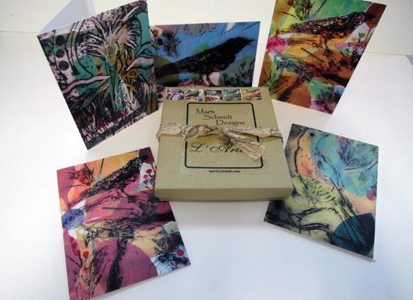 TALISMAN BIRD NOTE CARDS
