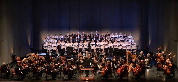 Tuscarawas Philharmonic & Adult Chorus at the Performing Arts Center at Kent State University Tuscarawas (photo courtesy of Tuscarawas Philaharmonic)