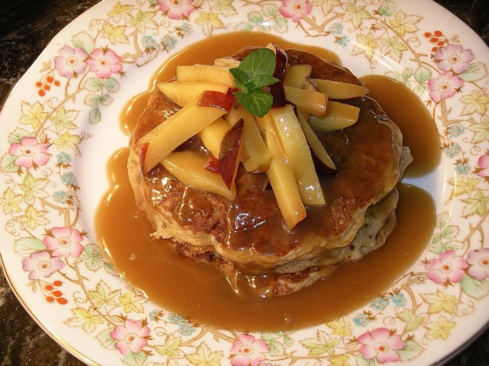 Oatmeal pancakes - BEST complete dish.JPG