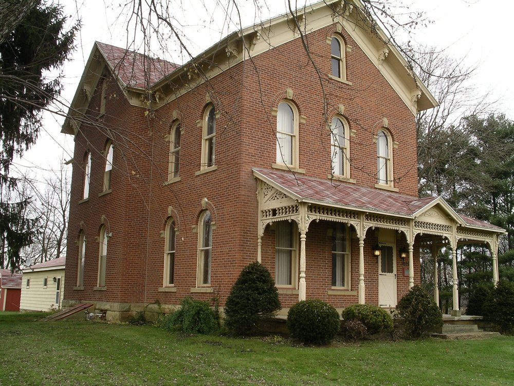 Brick House on Main as purchased in 2005.