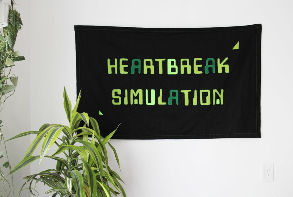 Joey Veltkamp,  Heartbreak Simulation , 2017