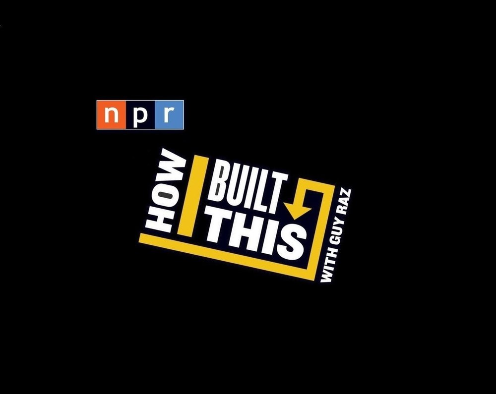 // how i built this - a.k.a. the gateway podcast to all other podcasts.Guy Raz of NPR hosts this incredibly popular & amazing podcast about