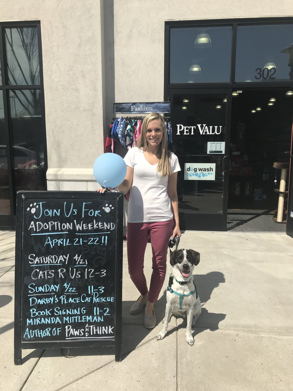 Pet Valu Adoption Event