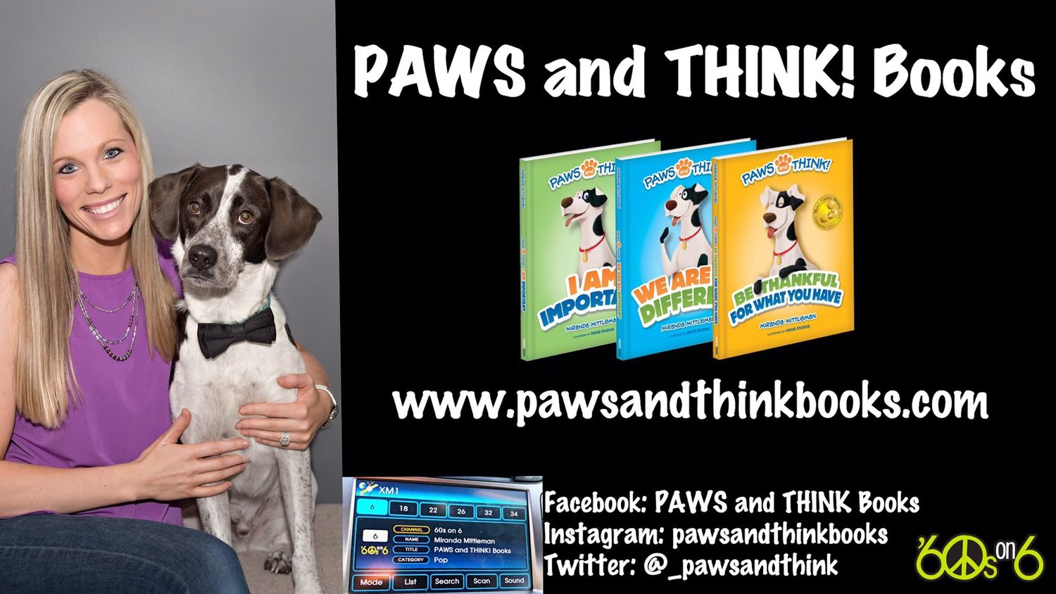 Sirius XM Interview — PAWS and THINK!®