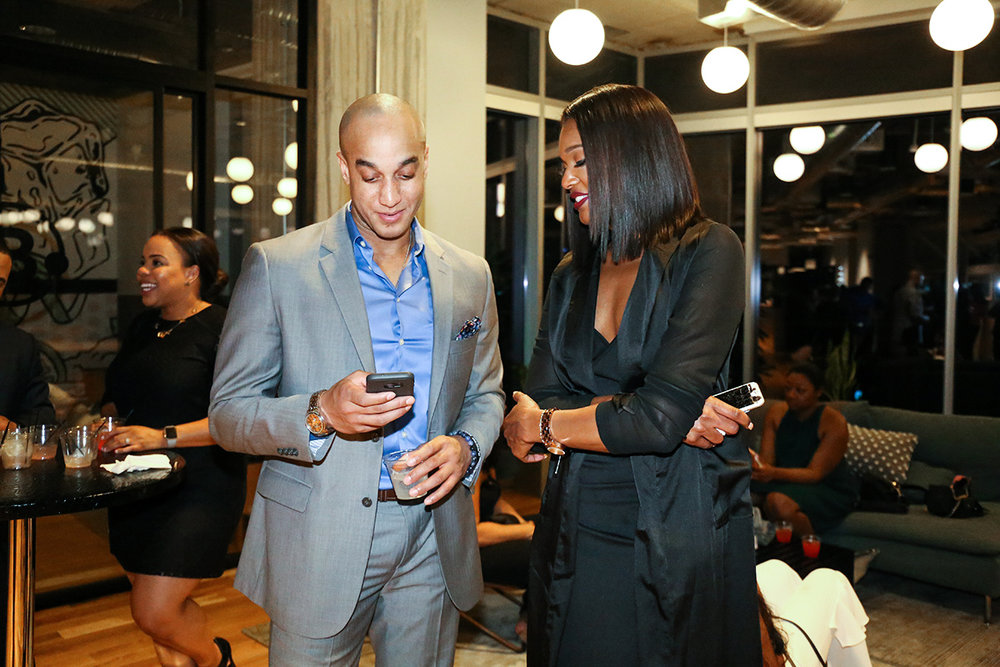 Co Founder Ariel Davis on the right.