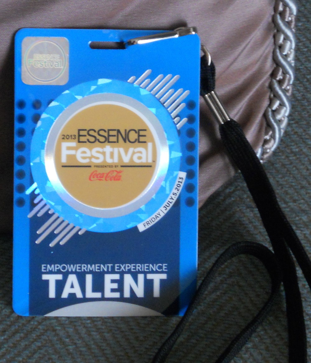 My all-access Talent pass.
