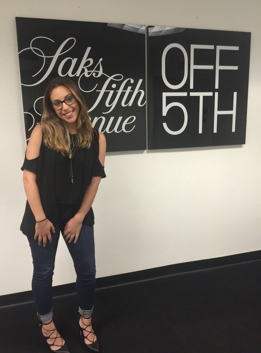 Internship at Saks Fifth Avenue OFF 5TH: Sarah Zieff, Class of 2017
