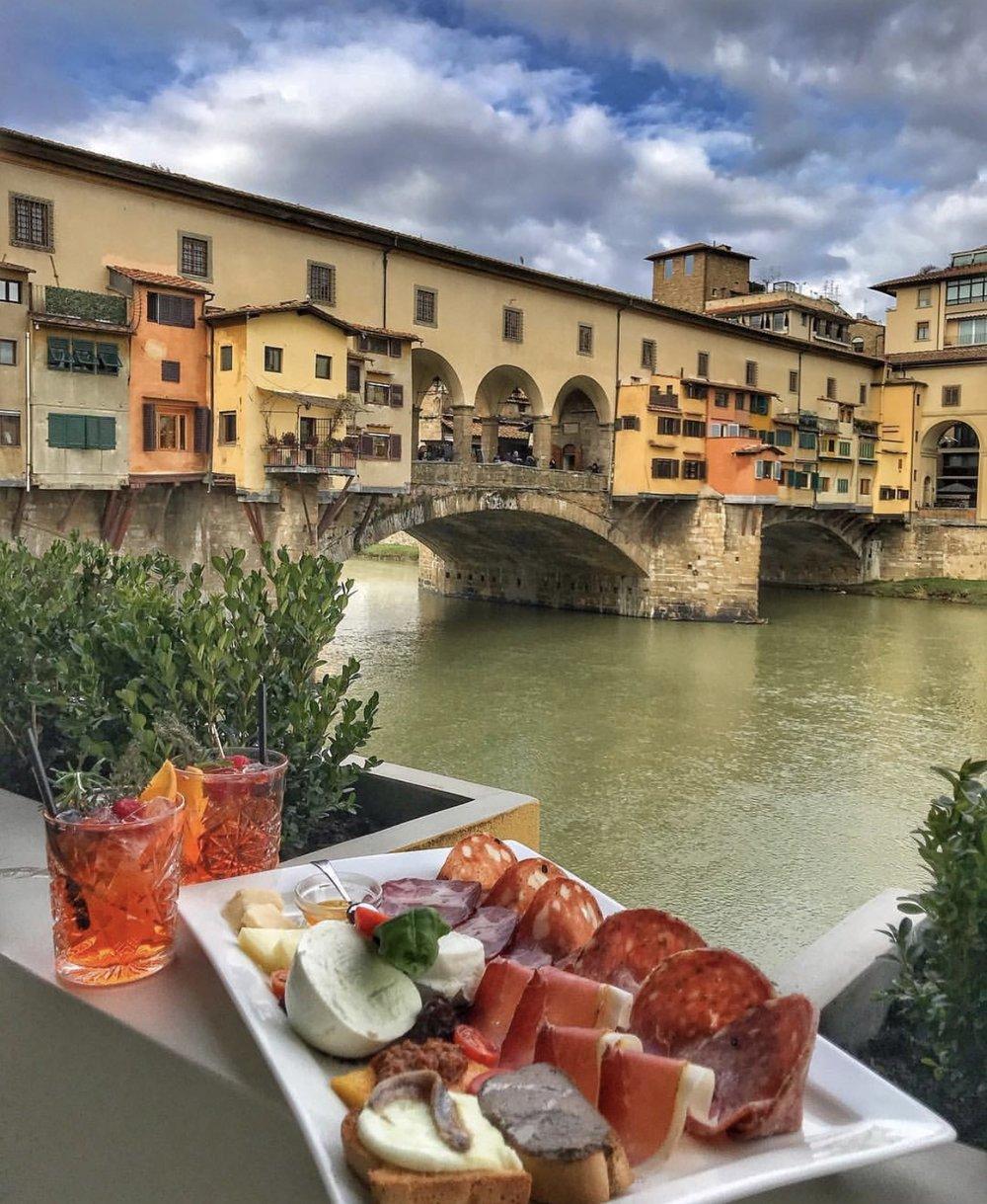 Via de' Bardi, 58/r, 50125 Firenze FI, Italy, +39 055 214502   Photo via @goldenview_firenze Instagram