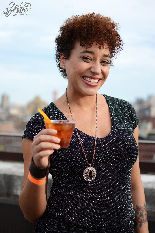 Chelsea, our lovely bartender