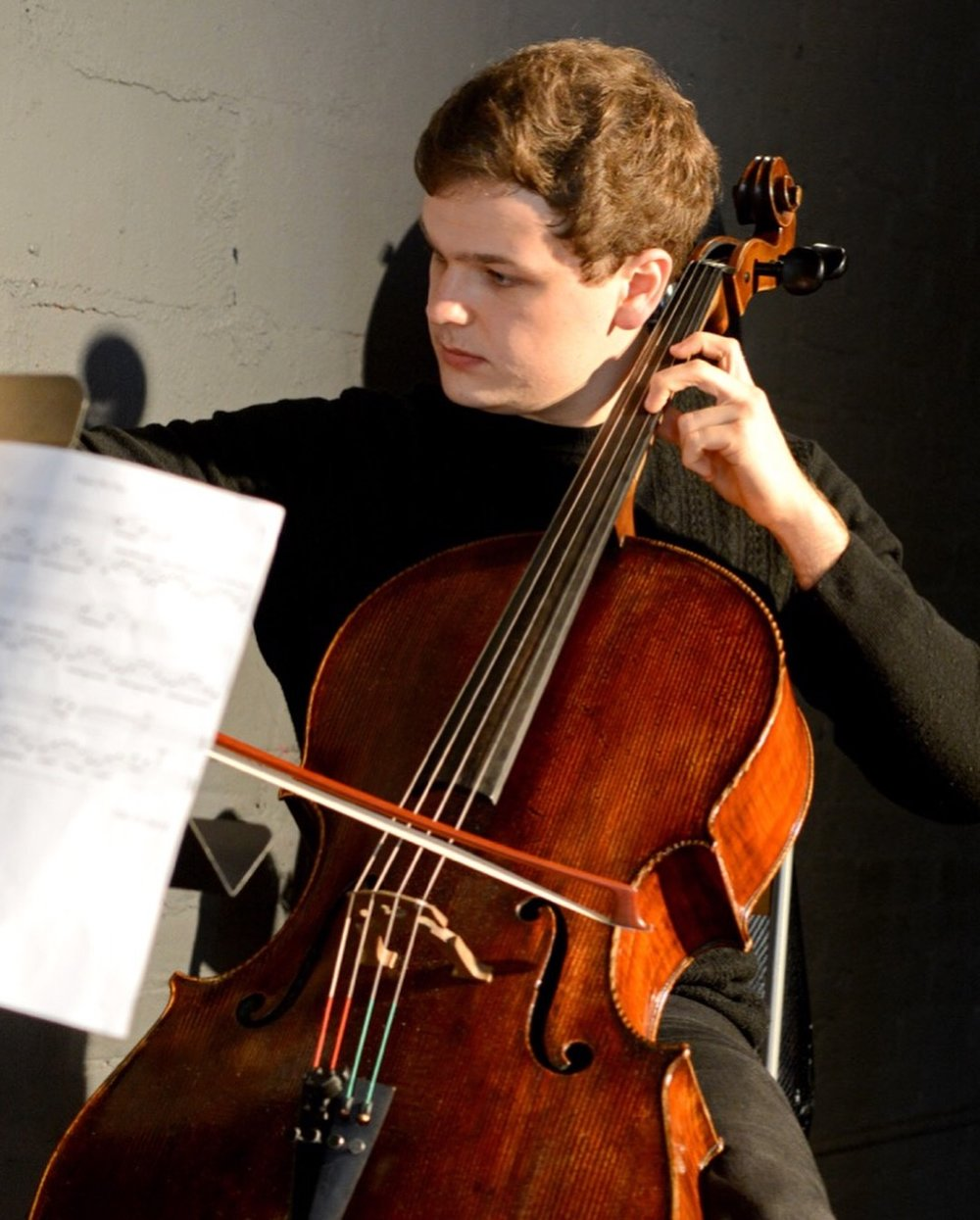 Nick Burkell, Cello