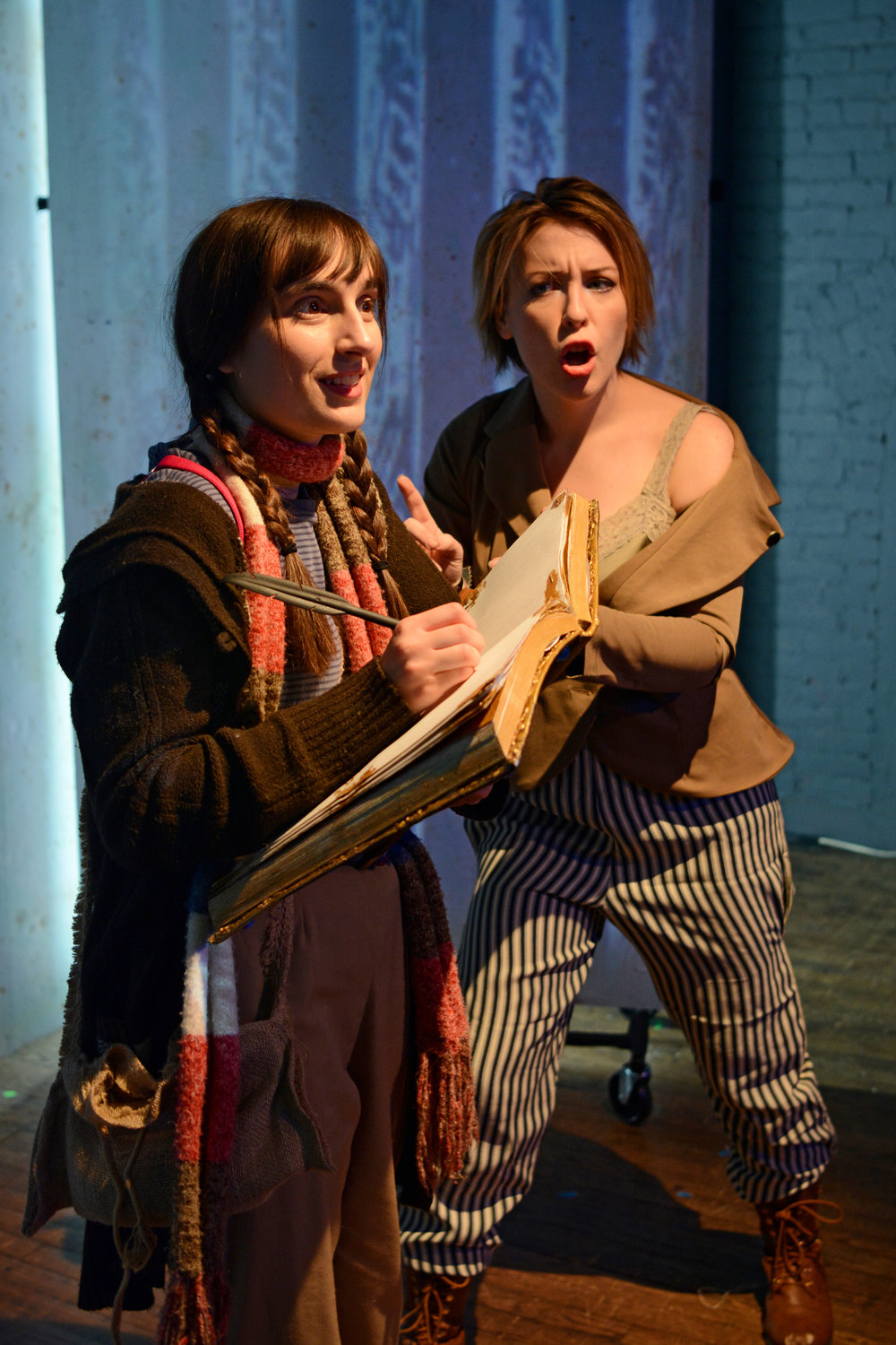 Jennifer Paldino as Isidora and Isabel Kruse as Thornley