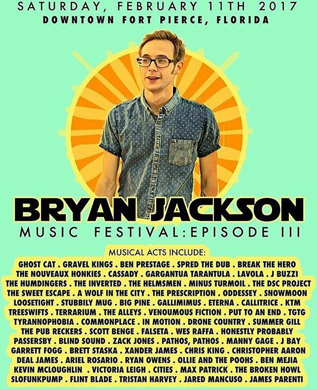 Just a couple more days!!! Who's coming out to @bryanjacksonmusicfestival ?