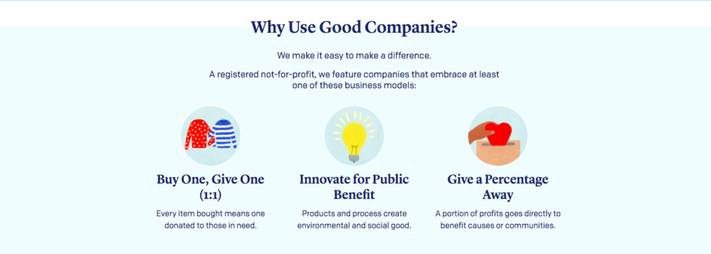 Why Use Good Companies?
