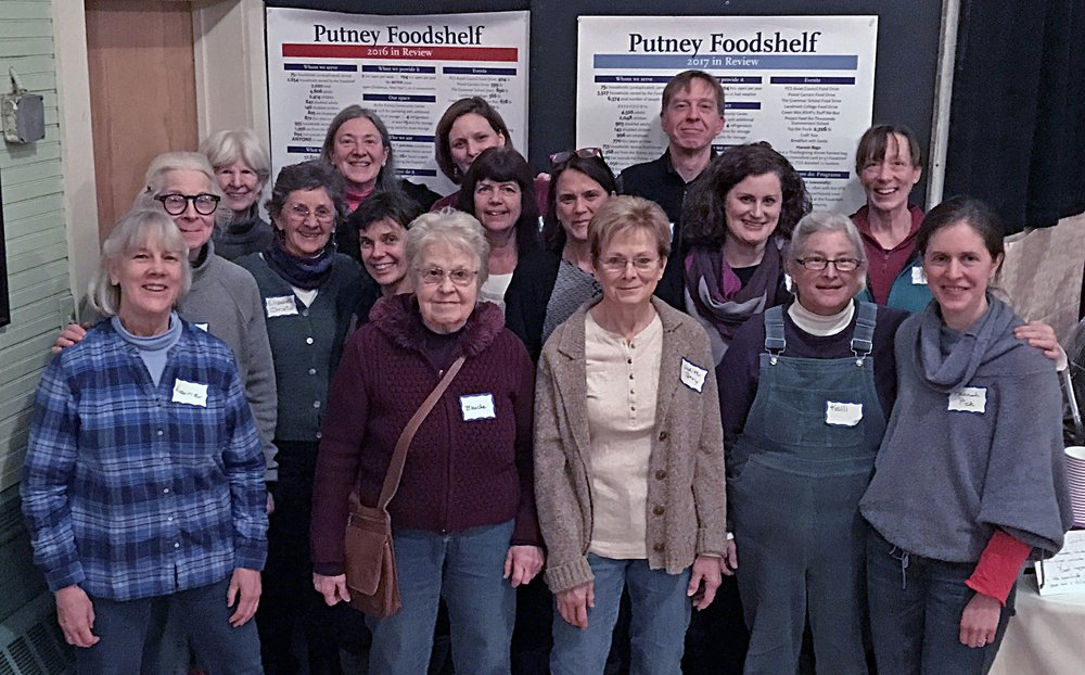 Some of our 50± volunteers gathered at our 2018 annual meeting. Join us! (Photo: Susan Kochinskas)