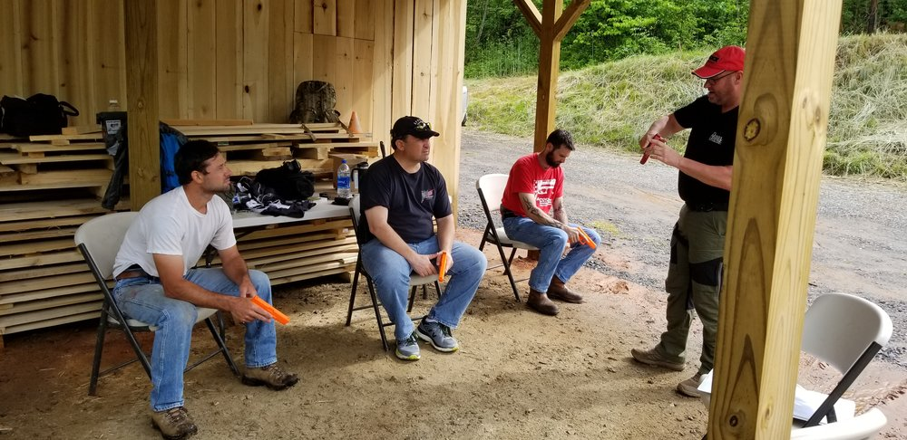 Learning some tips and tricks at our Everyday Carry Course
