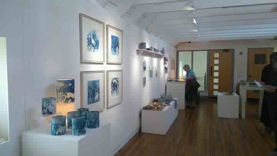 A customer's photo of the exhibition, shared with thanks.