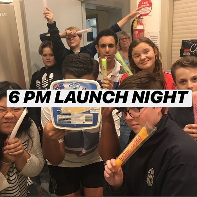 Already missing youth? Come to 6pm TONIGHT for our LAUNCH night into 2019! Stay for a pre-dessert feed! Bring $5 to cover dinner 👌🏼