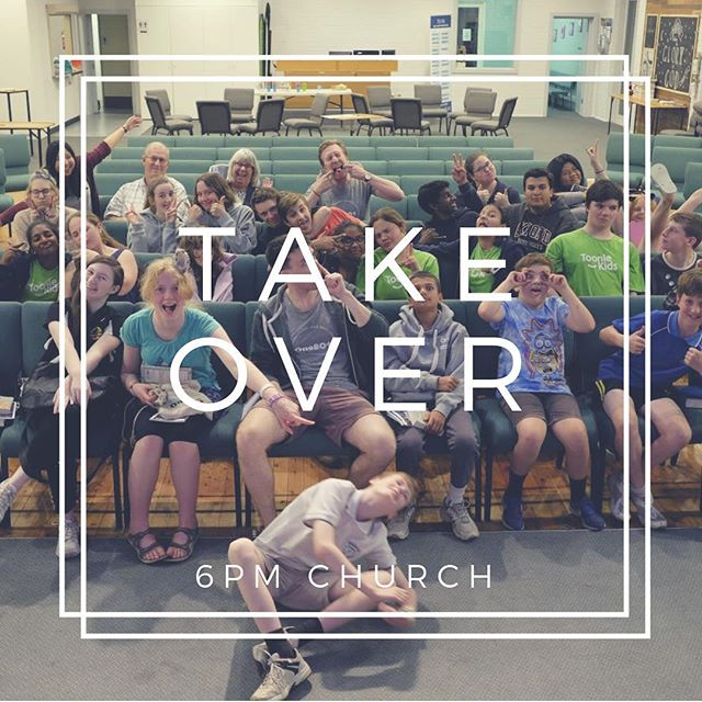 Tonight is the youth take over for the 6pm service! It's also cafe church! 6PM LOOK OUT! 😎