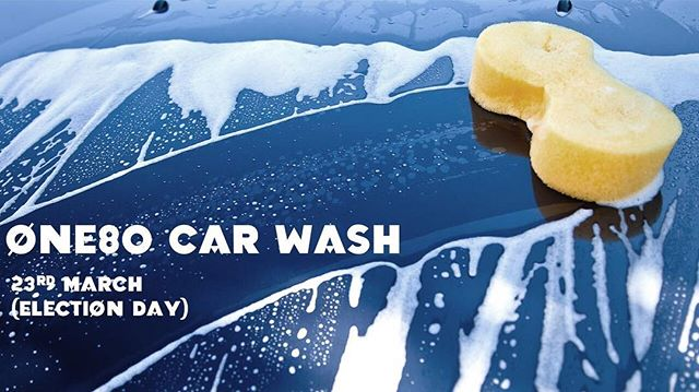 It's not too late to come down to church and help out at the car wash! (Or come and support One80 by getting your car washed!) 🚗🚙🚿