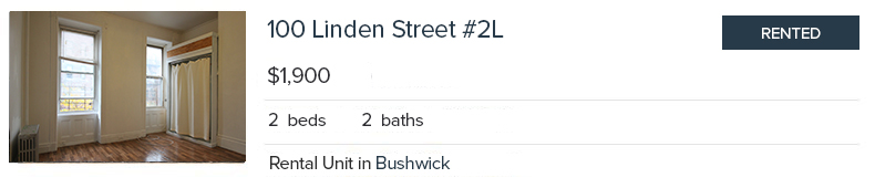 100 Linden Street 2L - Rented