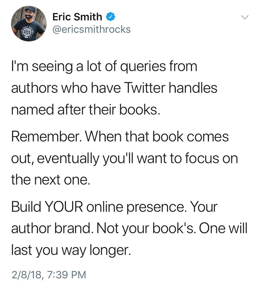 Eric Smith Tweet RE Your Online Presence.jpg