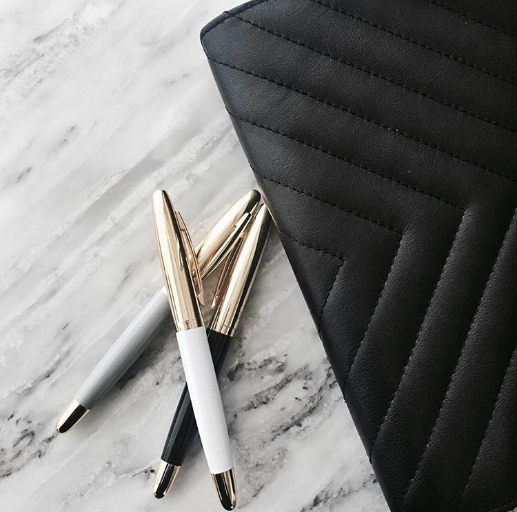 Cloth & Paper Quilted Planner and Icon Pen