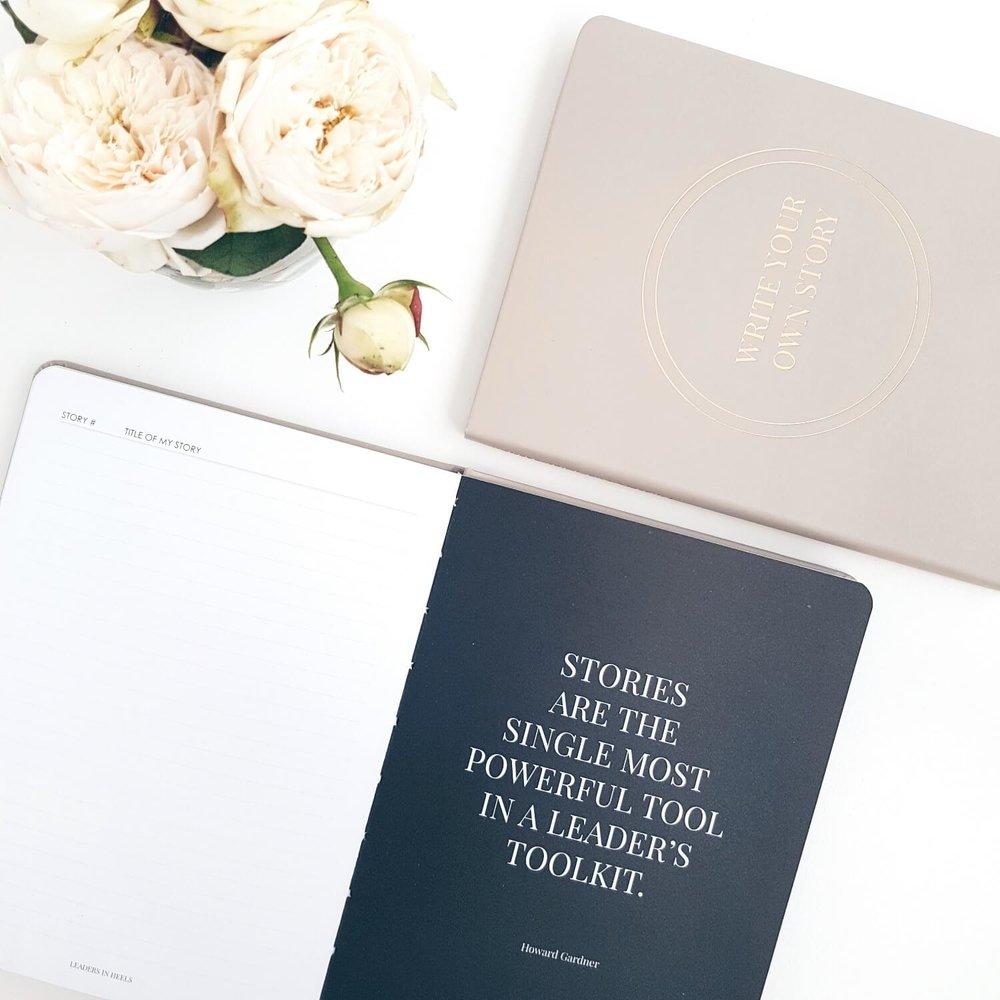 Leaders in Heels Write Your Story Journal