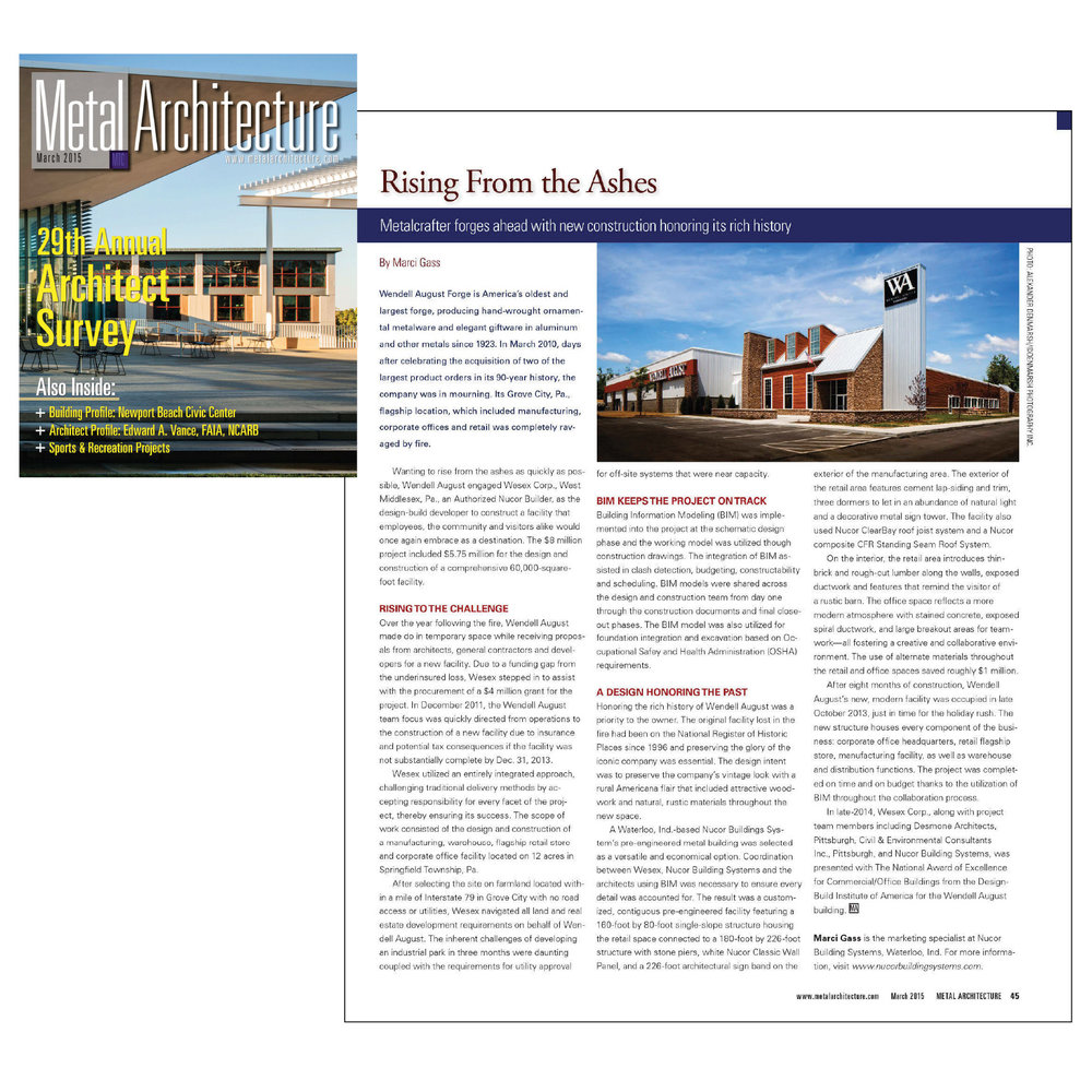 Feature Article | Metal Architecture