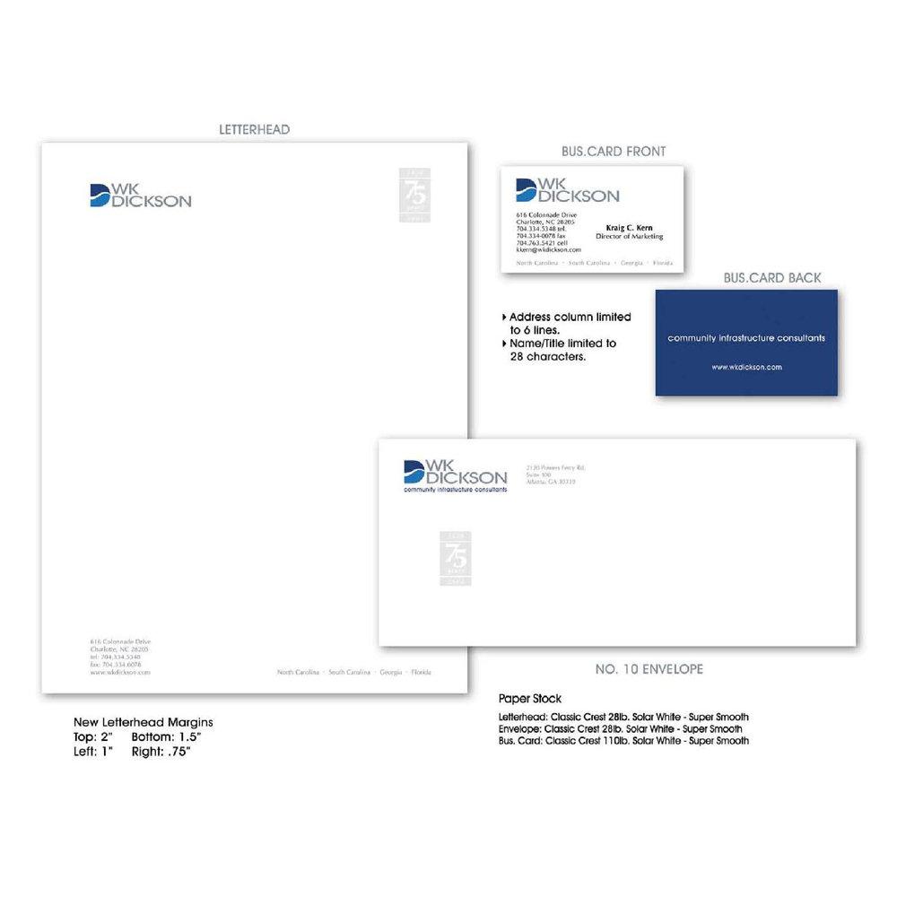 WK Dickson | Corporate Identity