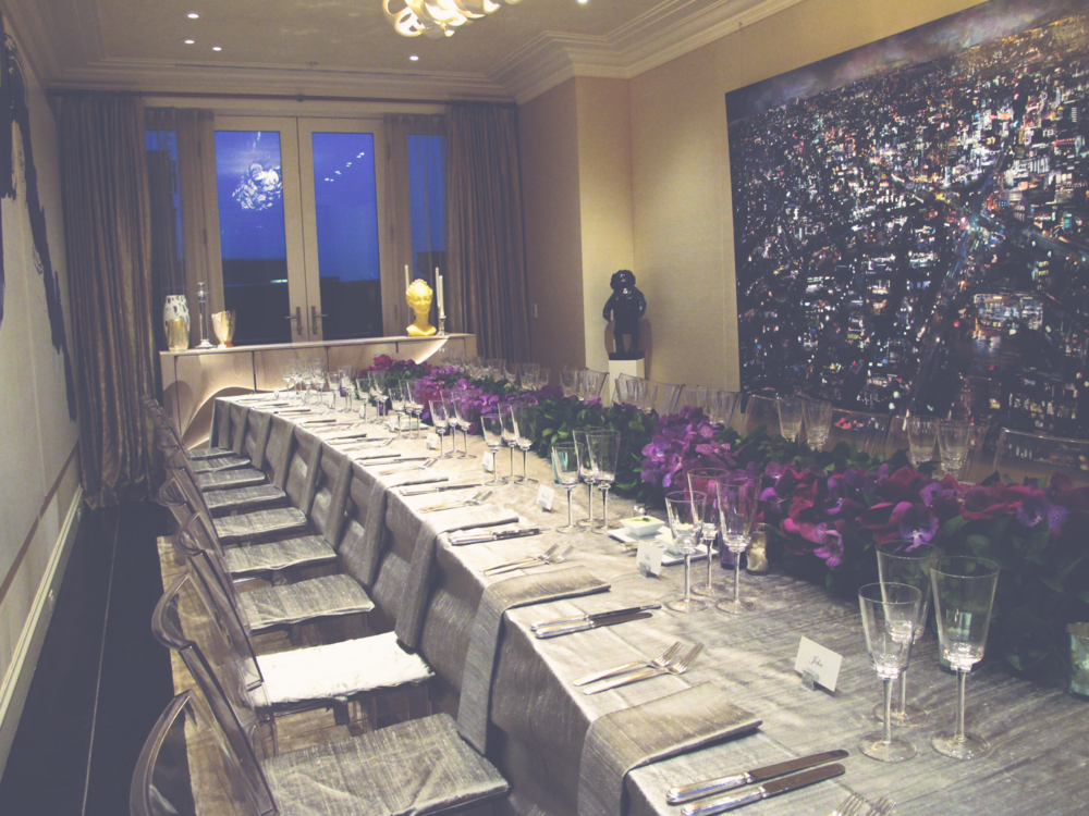 JP Morgan + Chase Co. | Floral + Event Design by NA