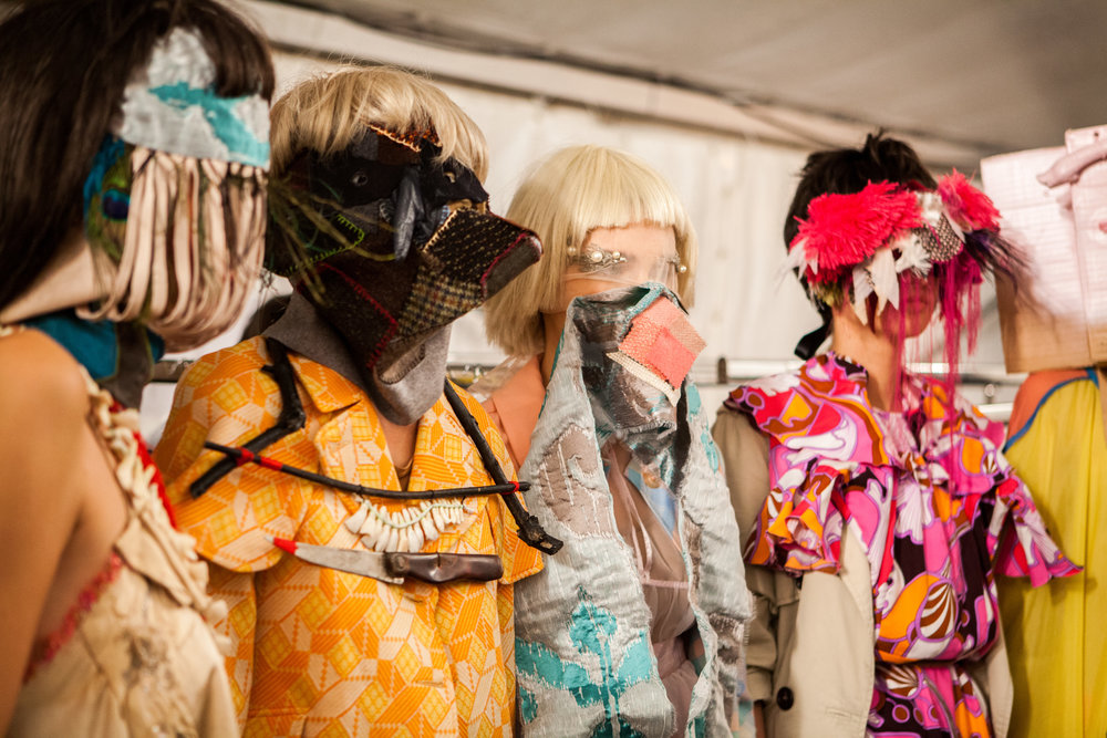 Karlla's work from Vienna fashion week, September 2015