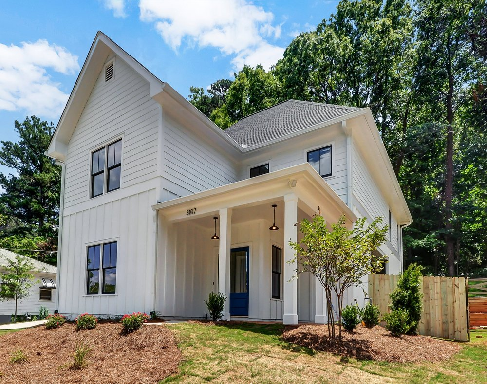4 Bedroom, 3 Bath, Modern Farmhouse in the hot, up-and-coming Atlanta area of Scottdale!
