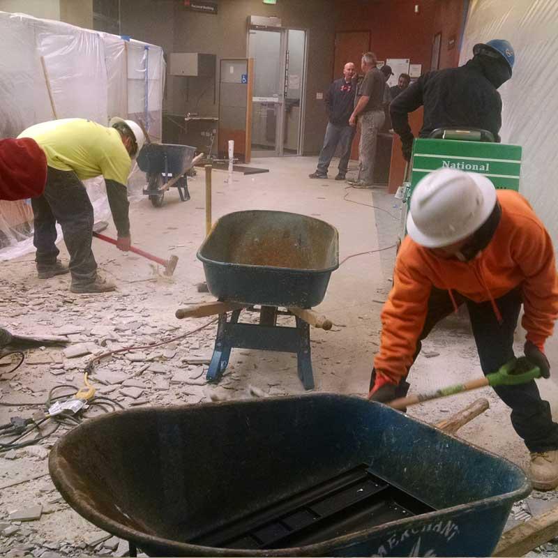Floor Grinding Prep Merchant Demolition