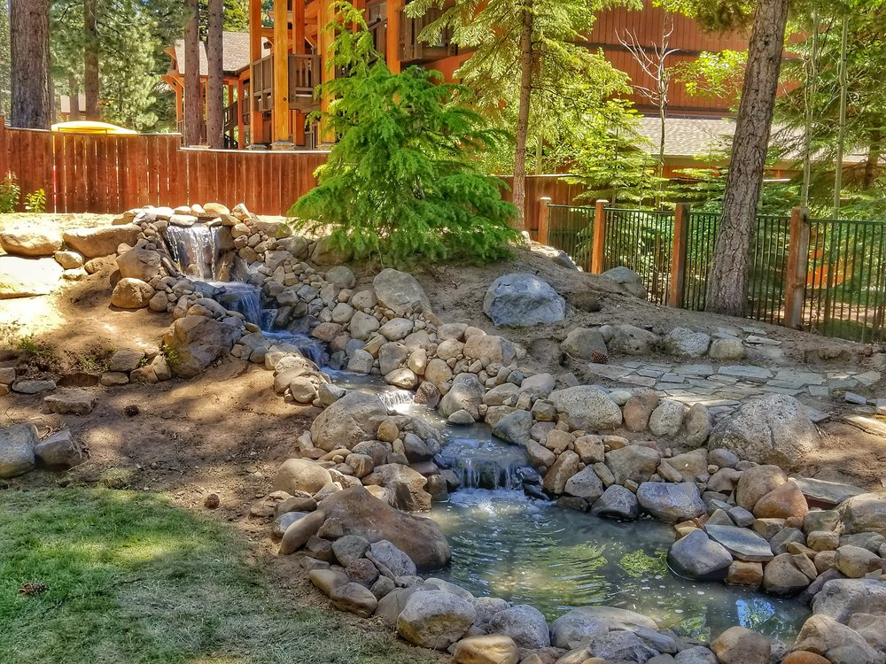 Water Feature Incline Village