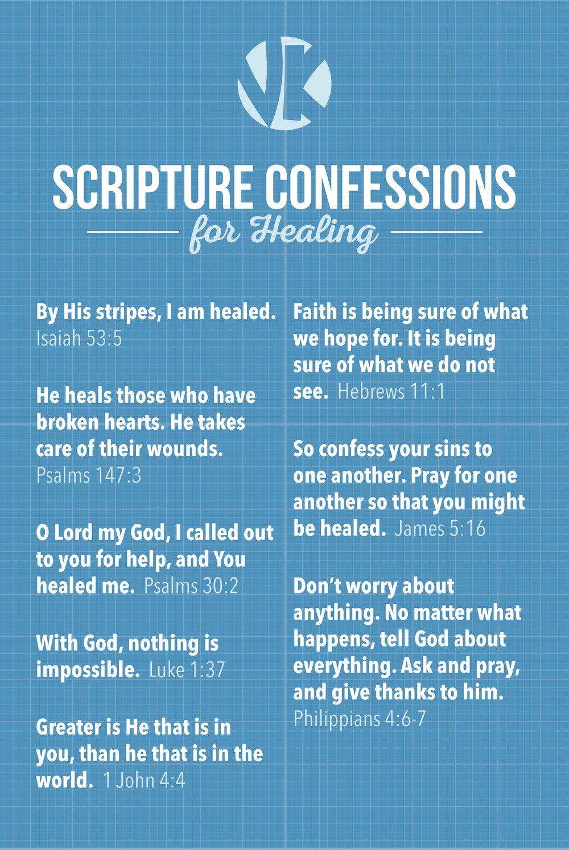 Healing Scriptures Poster