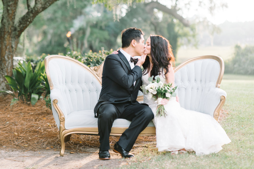 CALLA + THOMAS - BOONE HALL PLANTATION