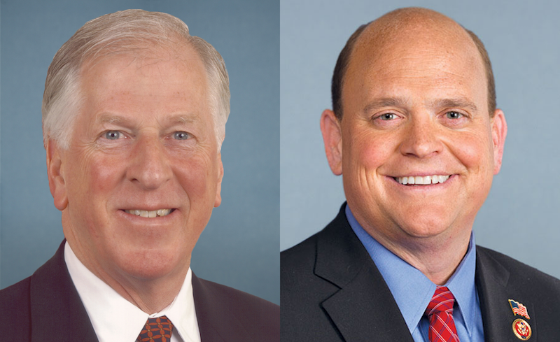 Representatives Tom Reed (R-NY) and Mike Thompson (D-CA)