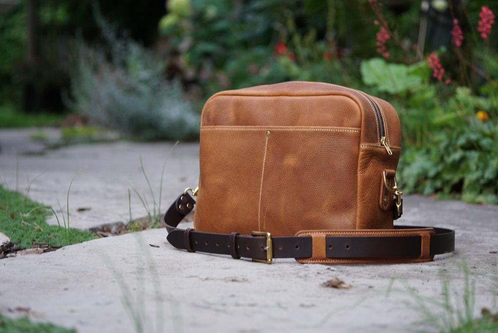 Zippered Messenger Bag