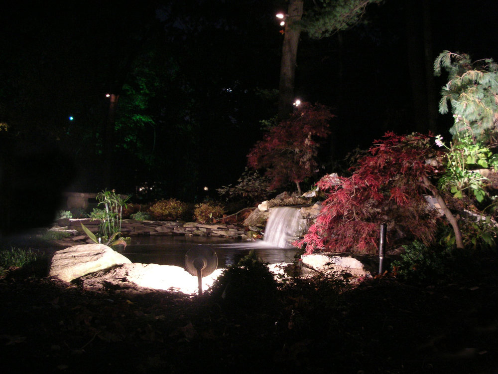 Top landscape design company with water feature in Long Island, NY