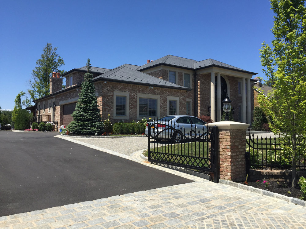 Professional driveway unilock paver design company in Long Island, NY