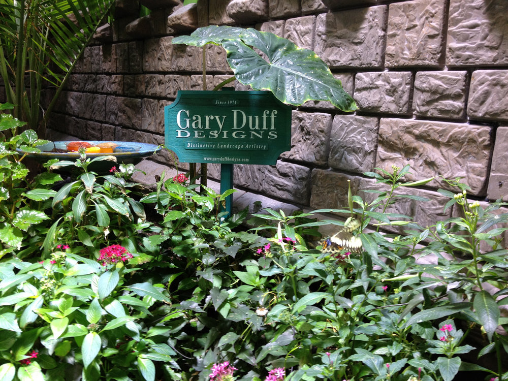 Experienced landscape design with butterfly garden in Long Island, NY