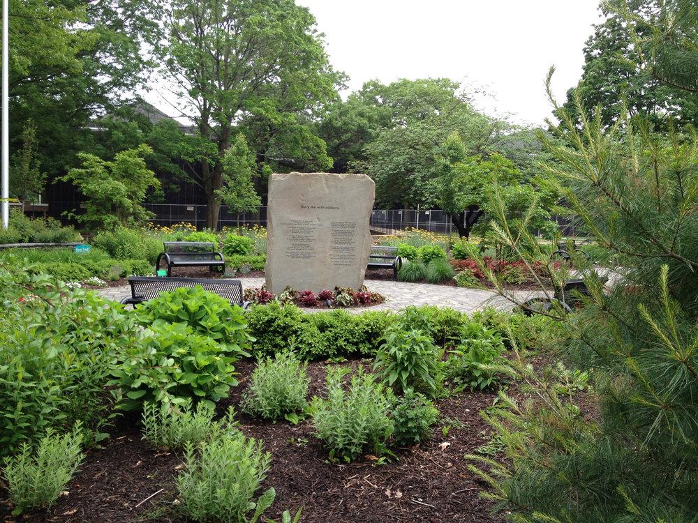 Professional memorial garden landscape designer in Long Island, NY