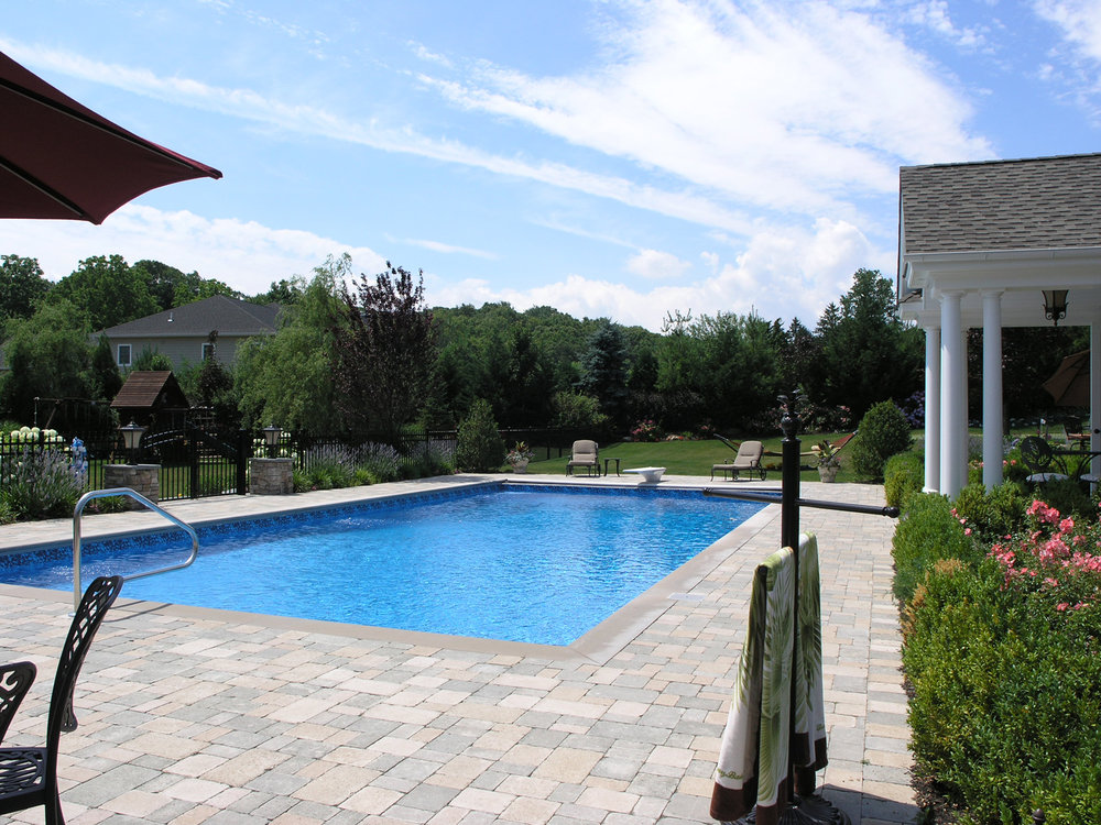Professional pool paver design company in Long Island, NY