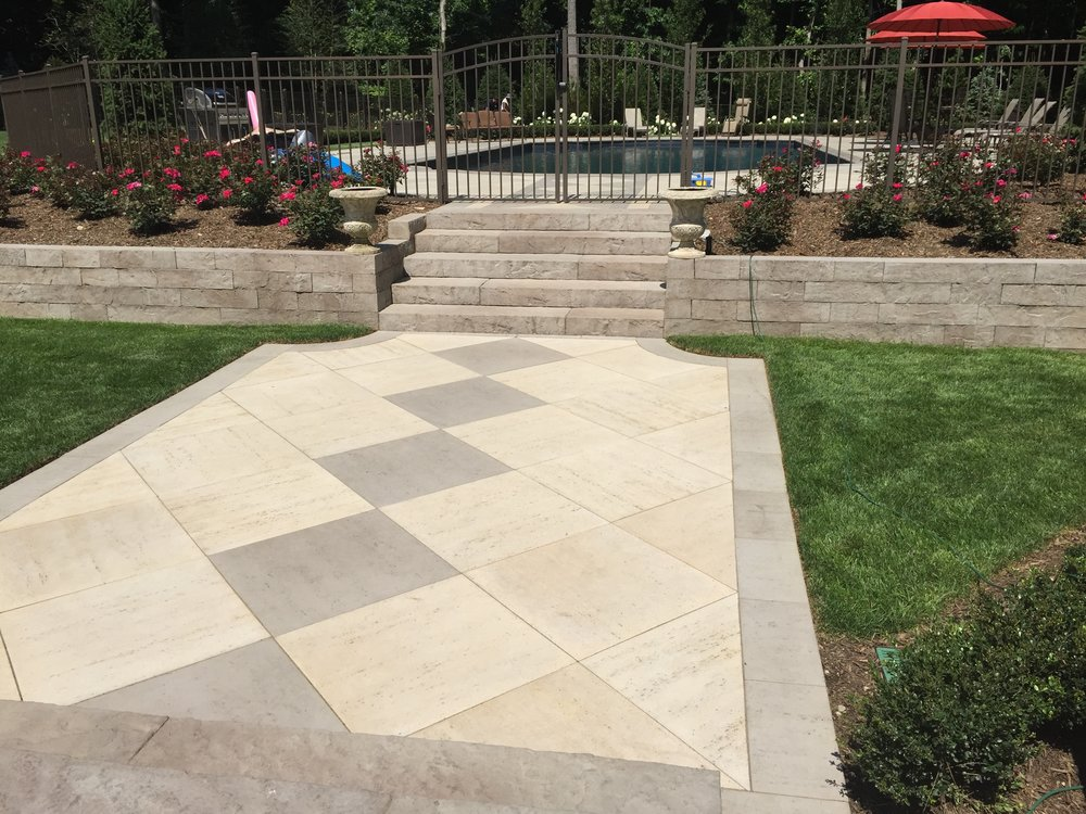 Custom walkway paver design company in Long Island, NY