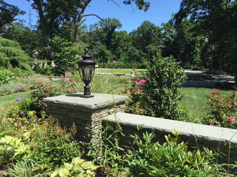Professional landscape design company with plantings in Long Island, NY