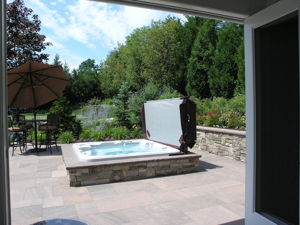 Top outdoor spa design company in Long Island, NY